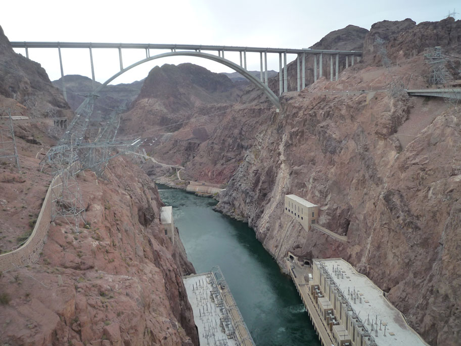 Nevada Solar One and Hoover Dam, two great champions