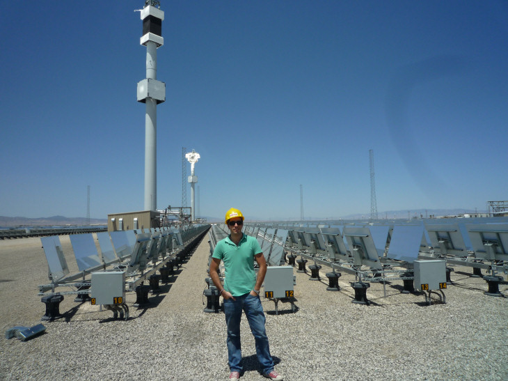 Calor y sol en Sierra Sun Tower Generting Station