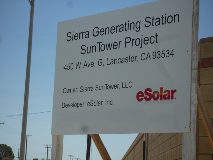 Sierra Sun Tower Generting Station